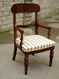 Кресло в стиле бидермайер
