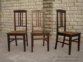 Темные обеденные стулья