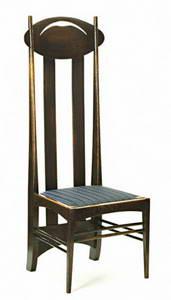 Čārlzs Renijs Makintošs, Charles Rennie Mackintosh krēsls 2