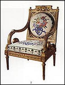Anrī Žakobs, Henri Jacob krēsls Pavlovskā