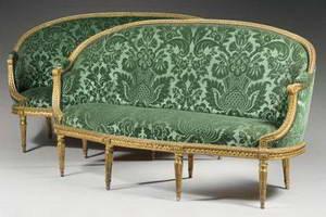 Жан Батист Клод Сене (Jean Baptiste Claude Sené, 1747-1803) sofa