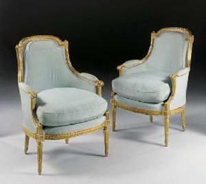 Жан Батист Клод Сене (Jean Baptiste Claude Sené, 1748-1803) krēsli