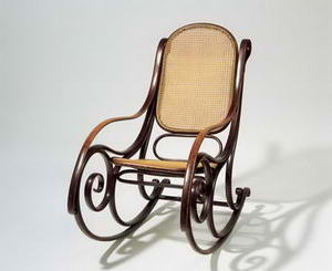 Mihaels Tonets, Michael Thonet šūpuļkrēsls