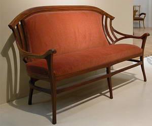 Henrijs van de Velde, Henry Clemens Van de Velde sofa